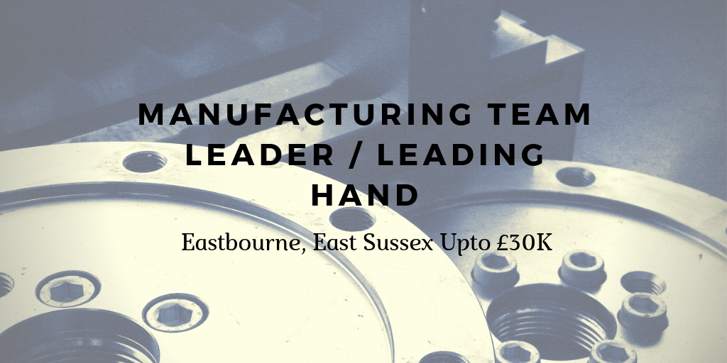 Manufacturing job in East Sussex