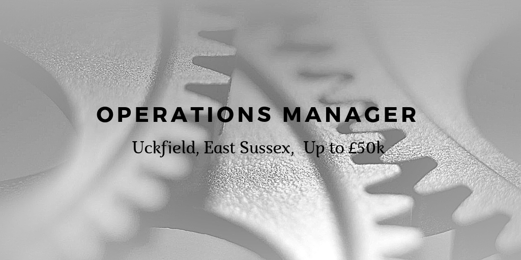 Manufacturing Manager Job is Sussex