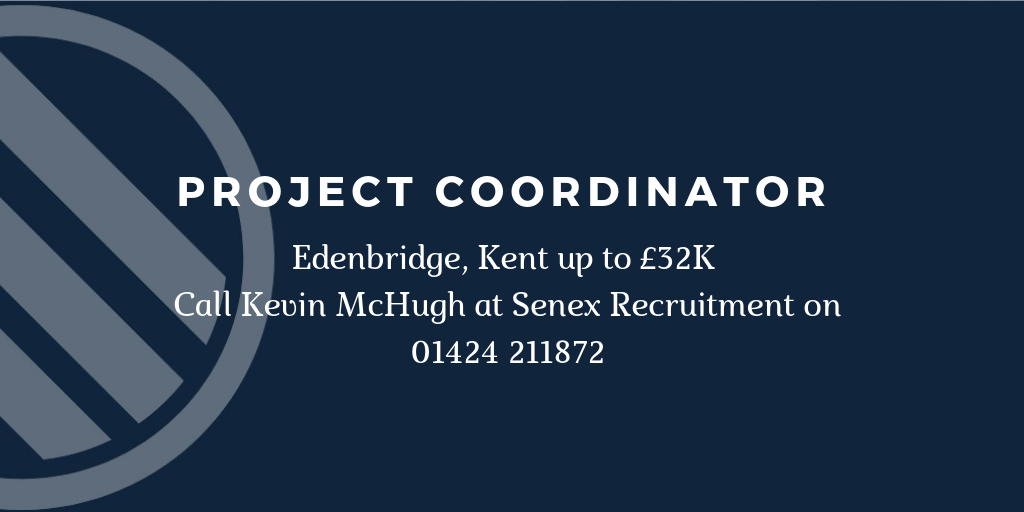 Job for Project Coordinator in Kent
