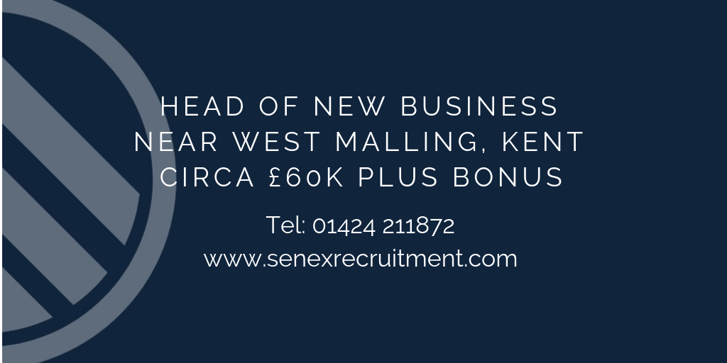 Sales Role in Kent for Head of New Business