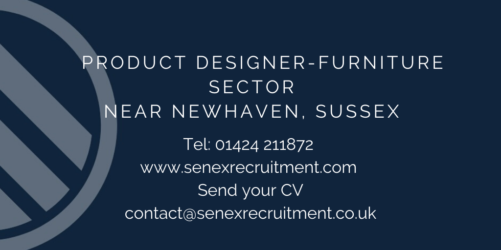 Design Engineer job in Sussex within the furniture industry