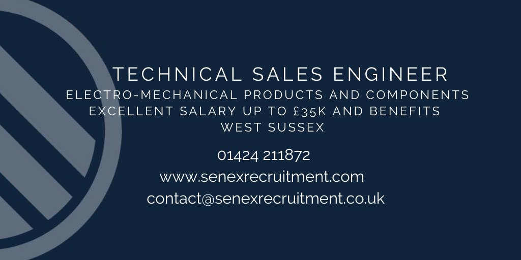 Job in Sussex for Technical Sales