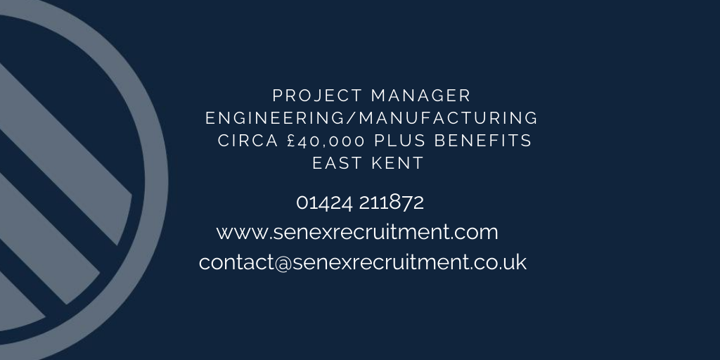 Canterbury job for Project Manager