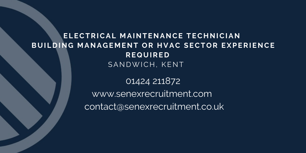 Job for Electrical Engineer in Kent