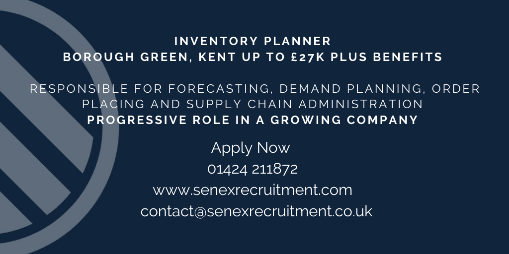 Job for Inventory Planner in Kent