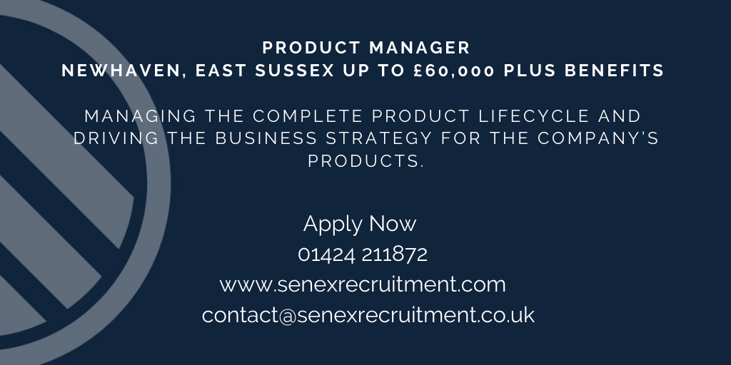 New job for a Product Manager in East Sussex