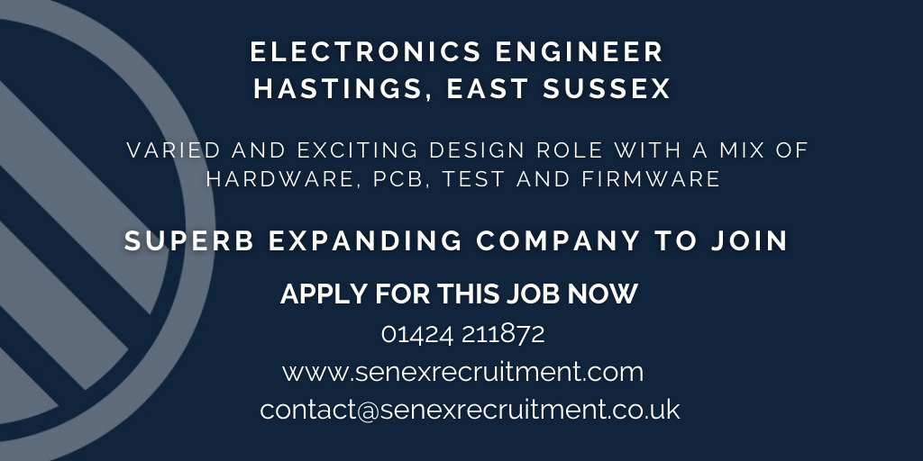 Job for Electronics Engineer in East Sussex
