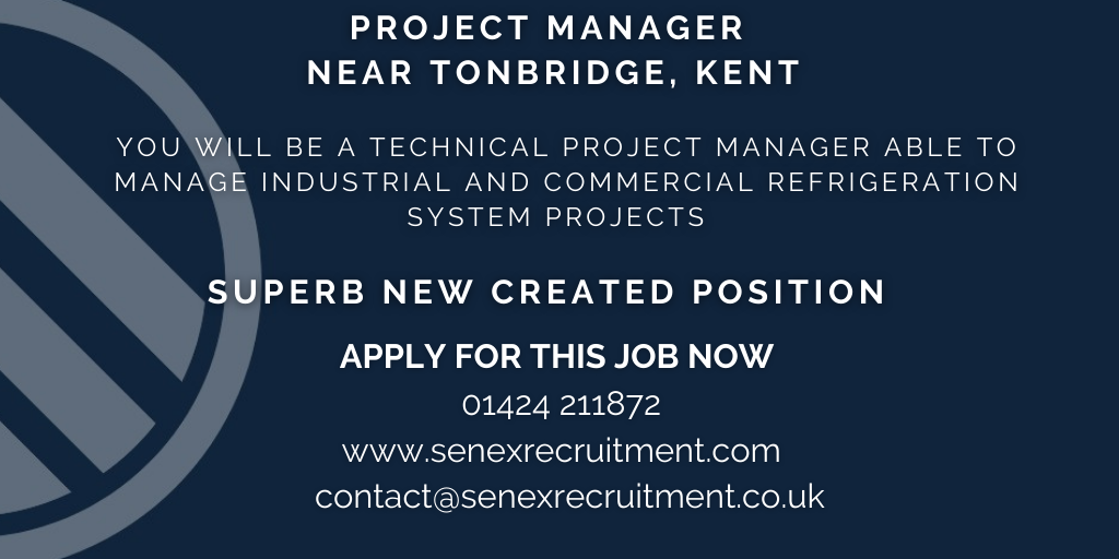 Job for Project Manager in Kent