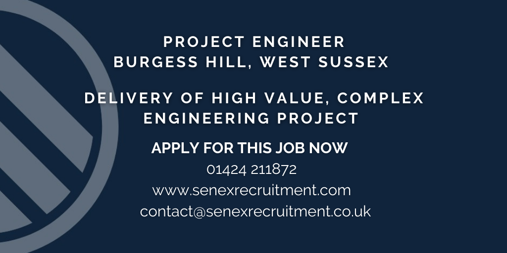 Project Engineer job in Burgess Hill
